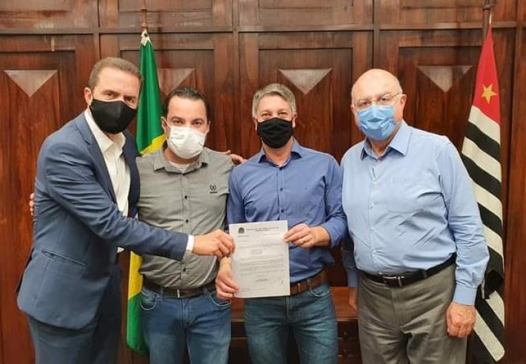 Rodrigo leva demandas da área rural em agenda de trabalho na Secretaria de Estado