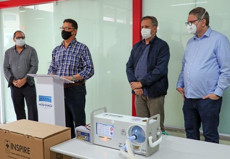 Hospital Municipal recebe cinco ventiladores mecânicos para tratamento de pacientes