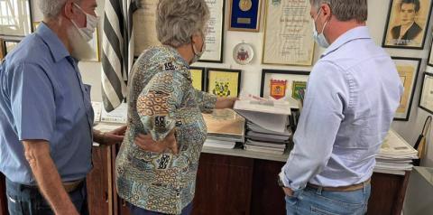 Museu Municipal recebe doação de  acervo histórico com cerca de mil peças