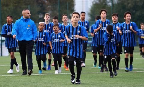 Título da Inter de Milão alavanca escola de futebol do clube no Brasil