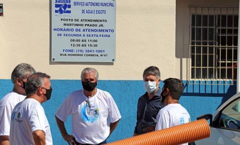 Posto de Atendimento do SAMAE em Martinho Prado será entregue este mês